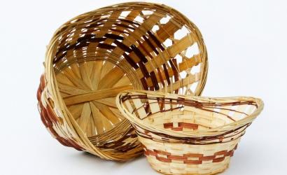 Корзинки плетеные из натуральных материалов
