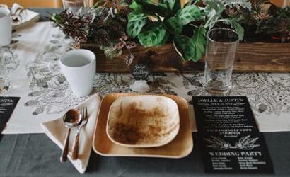 пальмовая эко посуда