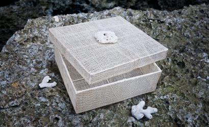 Необыкновенные плетеные подарочные коробки