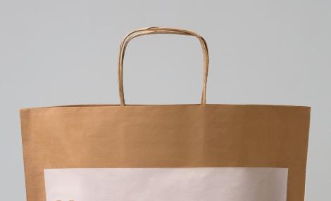 бумажный шпагат для ручек пакетов