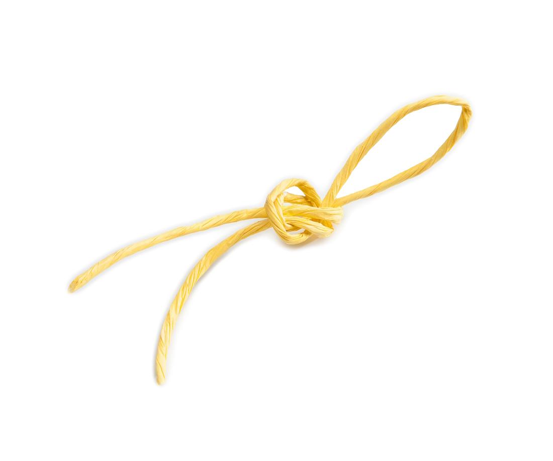 Шпагат желтый 3 мм.