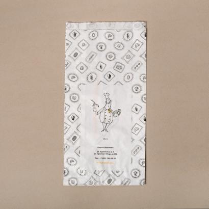 Бумажный крафт-пакет с логотипом