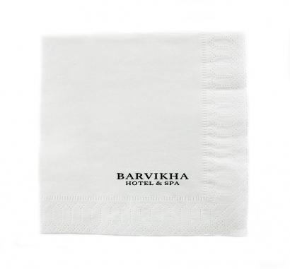 Бумажная салфетка для сети отелей