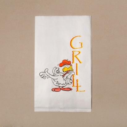 Бумажный пакет для гриля