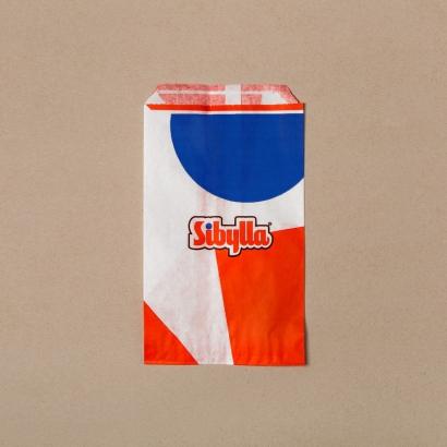 Бумажный пакет для ресторанов быстрого питания