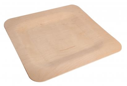 Экологичная тарелка из дерева