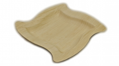 Тарелка из пальмового листа