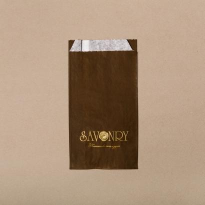 Бумажный пакет из дизайнерской бумаги